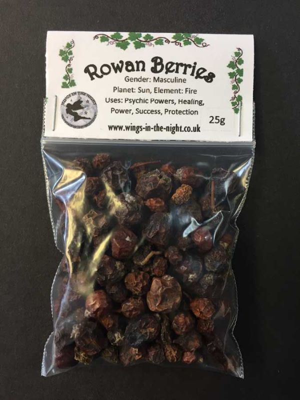 Rowan Berries (Mountain Ash) ~ Protection, Healing, Power, Success